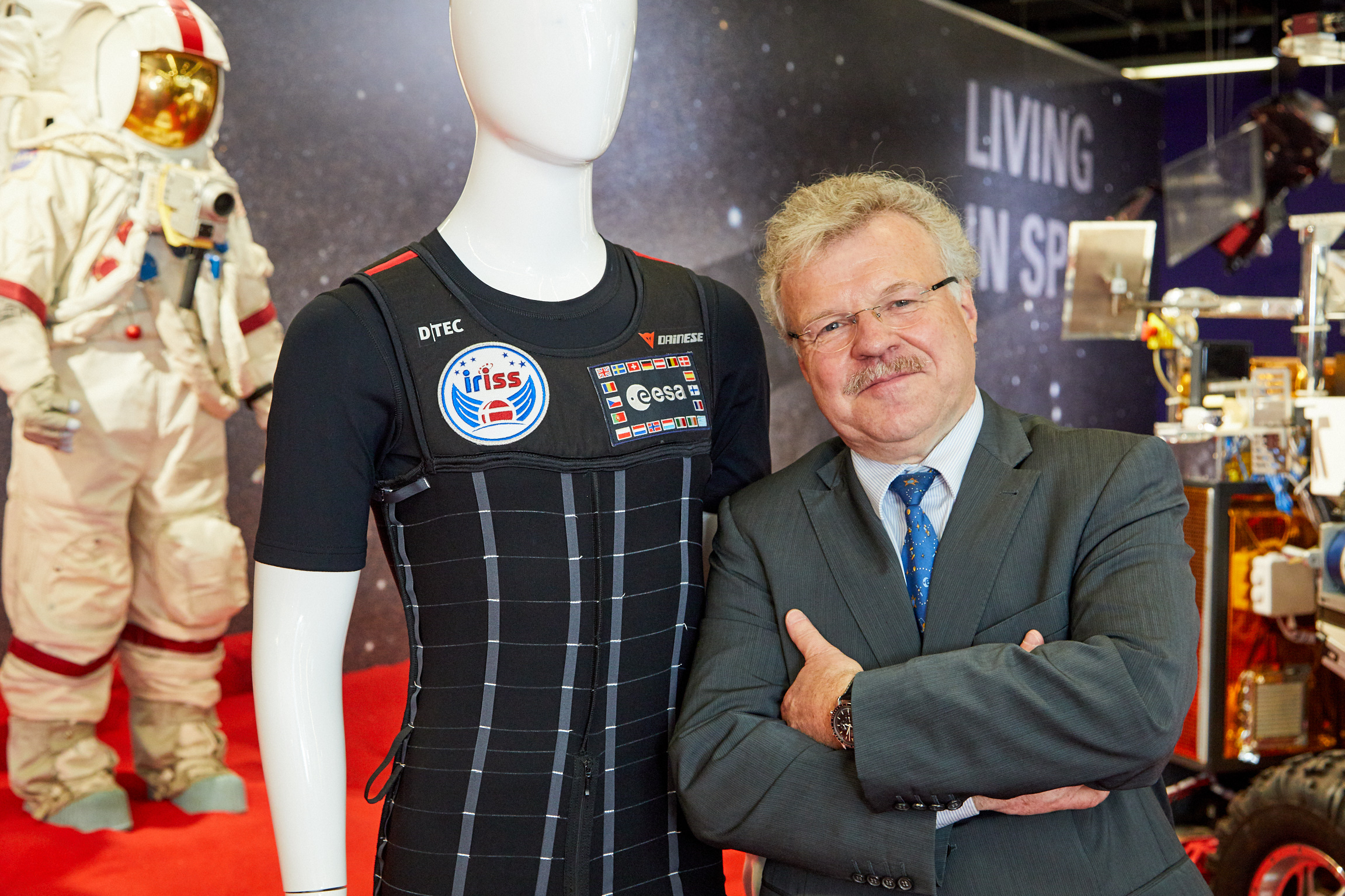 Dr. Reinhold Ewald, ESA-Astronaut and professor for astronautics and space stations, University of Stuttgart