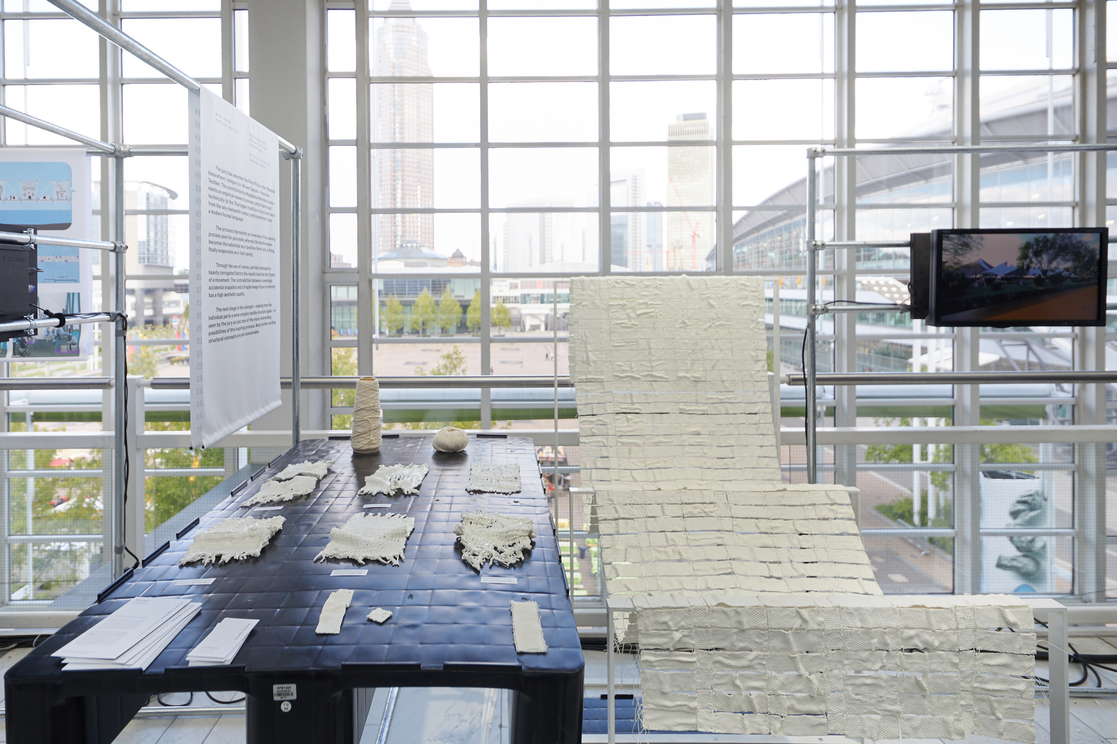 "Special Show: 15th Student Award: "" Textile Structures for new Building"""