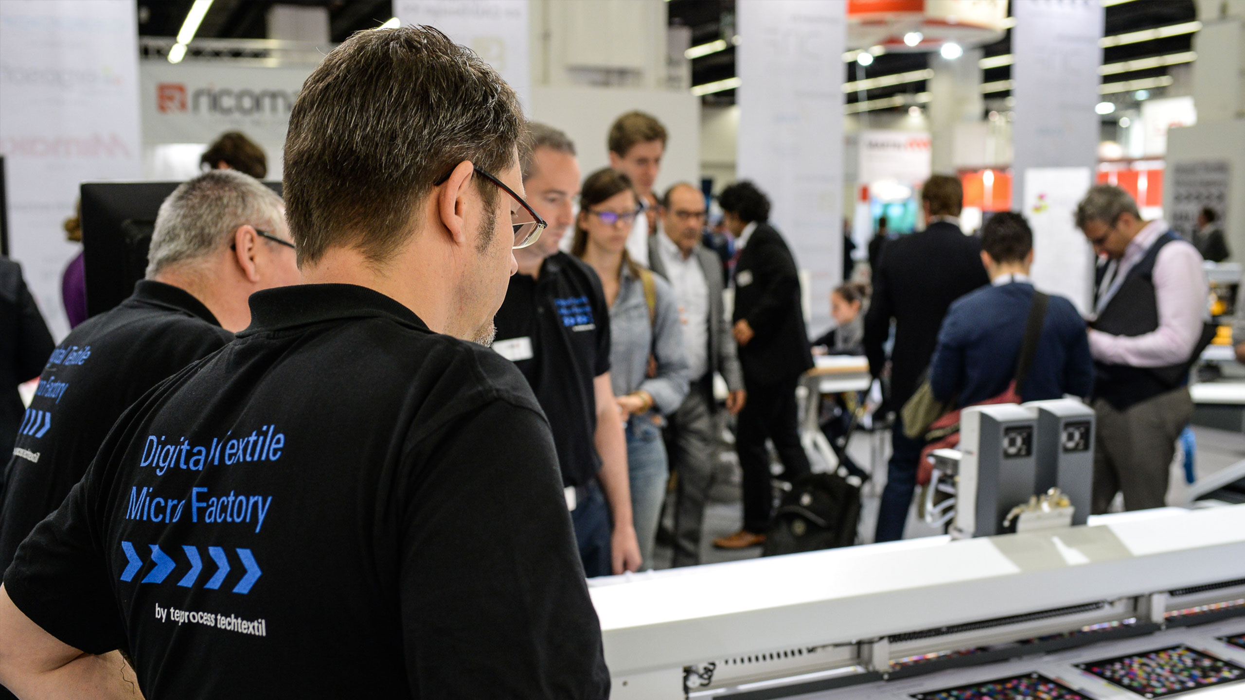Micro-factories are the centre of emphasis at Texprocess in Frankfurt am Main